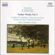 Opere per chitarra vol.5 - CD Audio di Napoleon Coste