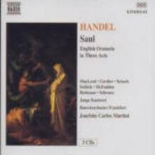 Saul - CD Audio di Georg Friedrich Händel