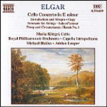 Concerto per violino - Introduzione e Allegro - CD Audio di Edward Elgar
