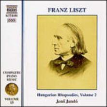 Rapsodie ungheresi nn.10-19 - CD Audio di Franz Liszt,Jeno Jandó