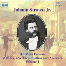 100 of his Best Compositions vol.1 - CD Audio di Johann Strauss
