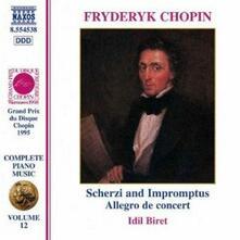 Impromptus - Scherzi - CD Audio di Fryderyk Franciszek Chopin,Idil Biret