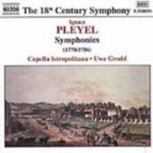 Sinfonie - CD Audio di Capella Istropolitana,Ignace Pleyel,Uwe Grodd