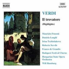 Il Trovatore (Selezione) - CD Audio di Giuseppe Verdi