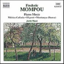 Opere per pianoforte vol.4 - CD Audio di Frederic Mompou