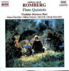 Quintetti con flauto op.41 n.1, n.2, n.3 - CD Audio di Andreas Jakob Romberg