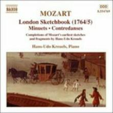 London Sketchbook 1764-1765 - CD Audio di Wolfgang Amadeus Mozart