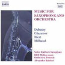 Musica per sassofono e orchestra - CD Audio