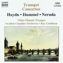 Concerti per tromba - CD Audio di Franz Joseph Haydn,Johann Nepomuk Hummel,Jan Krtitel Jiri Neruda,Bedrich Divis Weber