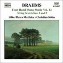 Opere per pianoforte a 4 mani vol.13 - CD Audio di Johannes Brahms