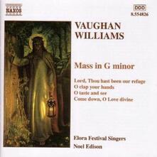 Messa in Sol minore - Mottetti - CD Audio di Ralph Vaughan Williams