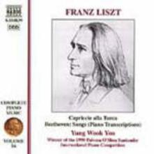 Trascrizione di Lieder di Beethoven - CD Audio di Franz Liszt
