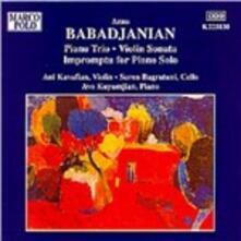 Trio con pianoforte - Sonata per violino - Impromptu - CD Audio di Arno Babadjanian