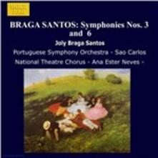 Sinfonie n.3, n.6 - CD Audio di Joly Braga Santos