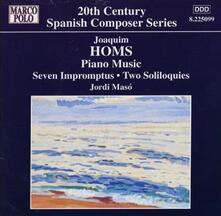 Opere per pianoforte - CD Audio di Jordi Maso,Joaquim Homs