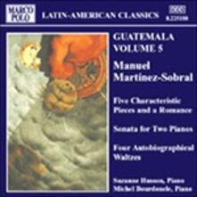 Sonata per 2 Pianoforti, 4 Serie di Valzer Autobiografici,5 Pezzi Caratteristici (Digipack) - CD Audio di Suzanne Husson