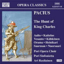 The Hunt of King Charles - CD Audio di Friedrich Pacius