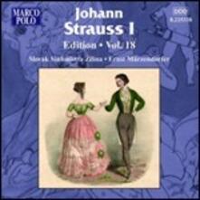 Johann Strauss Edition vol.18 - CD Audio di Johann Strauss