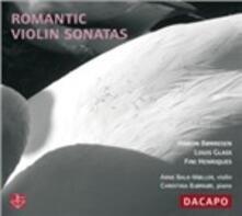 Romantic Violin Sonatas - Sonata per Violino e Pianoforte in La Minore, Op.13 - CD Audio di Hakon Borresen,Christina Bjorkoe