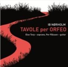 Tavole per Orfeo - CD Audio di Ib Norholm