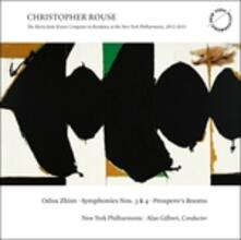Sinfonia n.3, n.4 - Prospero's Rooms - CD Audio di Christopher Rouse