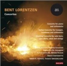 Concerto per Pianoforte e Sinfonietta - CD Audio di Bent Lorentzen