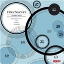Quartetto per Archi n.2 - Trio per Clarinetto, Violoncello e Pianoforte - CD Audio di Finn Savery