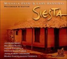 Siesta - CD Audio di Astor Piazzolla,Maurice Ravel,Heitor Villa-Lobos,Mario Castelnuovo-Tedesco,Joan Albert Amargos