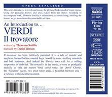 Intro to. Il Trovatore - CD Audio di Giuseppe Verdi