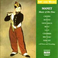 Musica al tempo di Manet - CD Audio