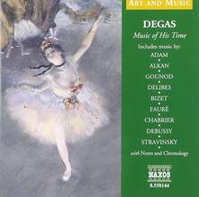 Musica al tempo di Dégas - CD Audio