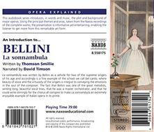 La Sonnambula. Opera Expla - CD Audio di Vincenzo Bellini