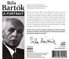 A Portrait of Bela Bartok - CD Audio di Bela Bartok
