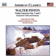Concerti per violino n.1, n.2 - CD Audio di Walter Piston