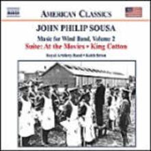 Musica per banda di strumenti a fiato vol.2 - CD Audio di John Philip Sousa