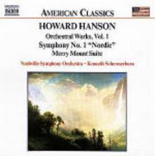 Merry Mount - Sinfonia n.1 - Variazioni su un tema antico - Pan and the Priest - CD Audio di Howard Hanson