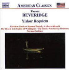 Yizkor Requiem - CD Audio di Thomas Beveridge