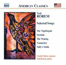 Liriche - CD Audio di Ned Rorem