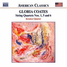 Quartetti per archi n.1, n.5, n.6 - CD Audio di Gloria Coates