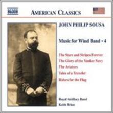 Musica per banda di strumenti a fiato vol.4 - CD Audio di John Philip Sousa