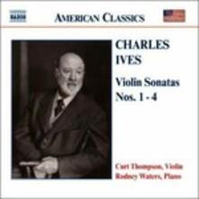 Sonate per violino n.1, n.2, n.3, n.4 - CD Audio di Charles Ives