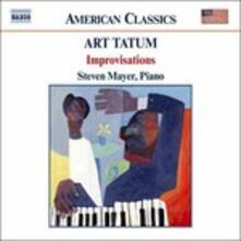 Improvisations - CD Audio di Art Tatum
