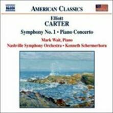 Sinfonia n.1 - Concerto per pianoforte - Holiday Ouverture - CD Audio di Elliott Carter