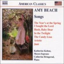 Songs - CD Audio di Amy Beach