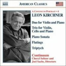 Musica da camera - CD Audio di Leon Kirchner