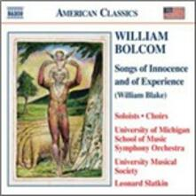Songs of Innocence and Experience - CD Audio di William Bolcom