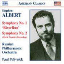 Sinfonie n.1, n.2 - CD Audio di Stephen Albert