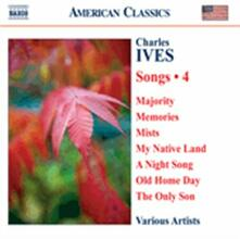 Songs vol.4 - CD Audio di Charles Ives