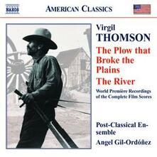 The Plow That Broke the Plain - The River - CD Audio di Virgil Thomson