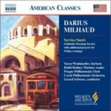 Service Sacré - CD Audio di Darius Milhaud